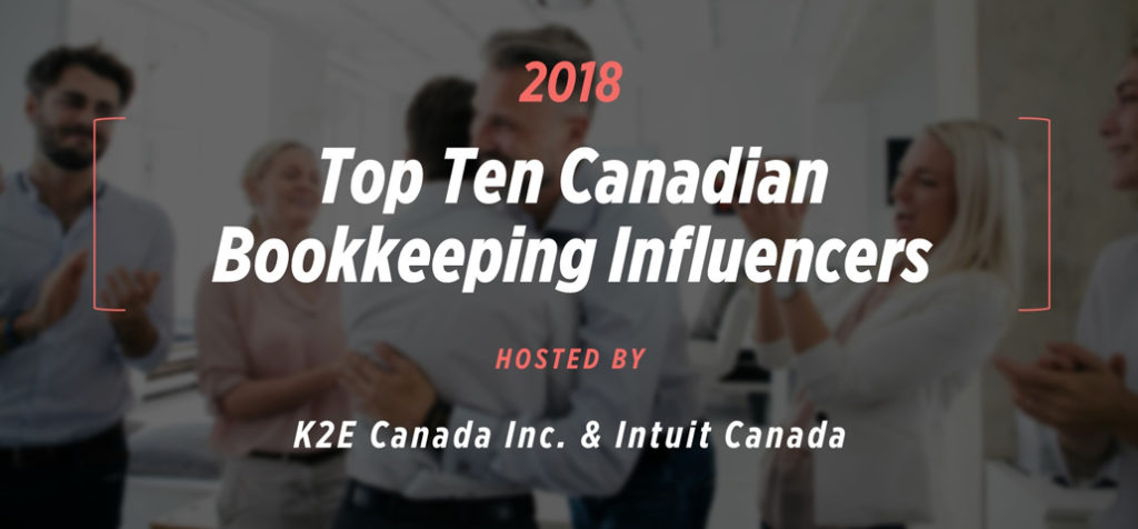 Esther Friedberg Karp recognized as a Top Ten Influencer in the Canadian Bookkeeping World 2018