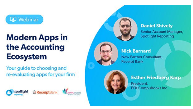 Webinar - Modern Apps in the Accounting Ecosystem