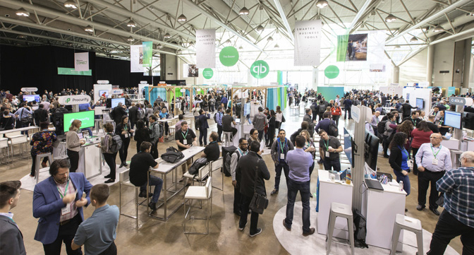 """Esther Friedberg Karp spoke at QuickBooks Connect in Toronto in December 2019 on """"Discovering Business Insights Using QuickBooks Online."""""""